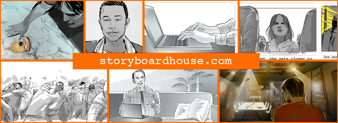 Storyboard artist and illustrator – Original art by Lee Milby