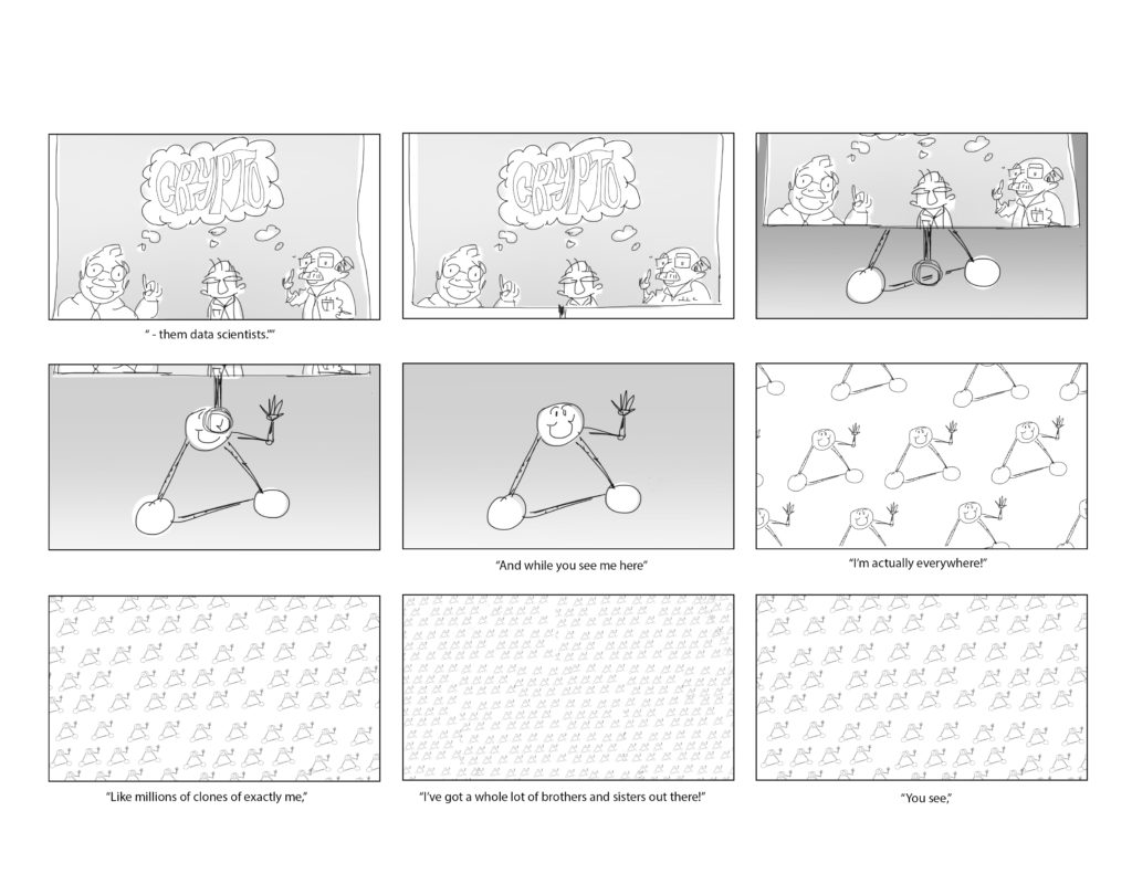 Storyboard Animation Blockchain